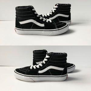 Vans SK-HI Kids Old Skool Black Sneakers